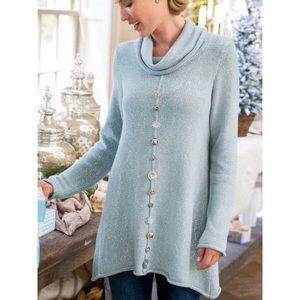 Soft Surroundings Nordic Night Knit Tunic